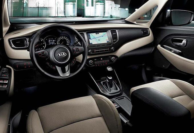Kia Carens dashboard