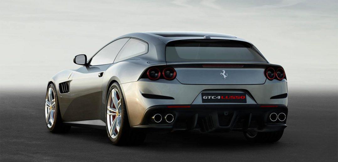 De nieuwe Ferrari GTC4Lusso