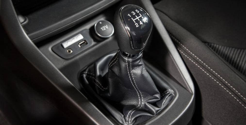 Ford Ka+ versnelling