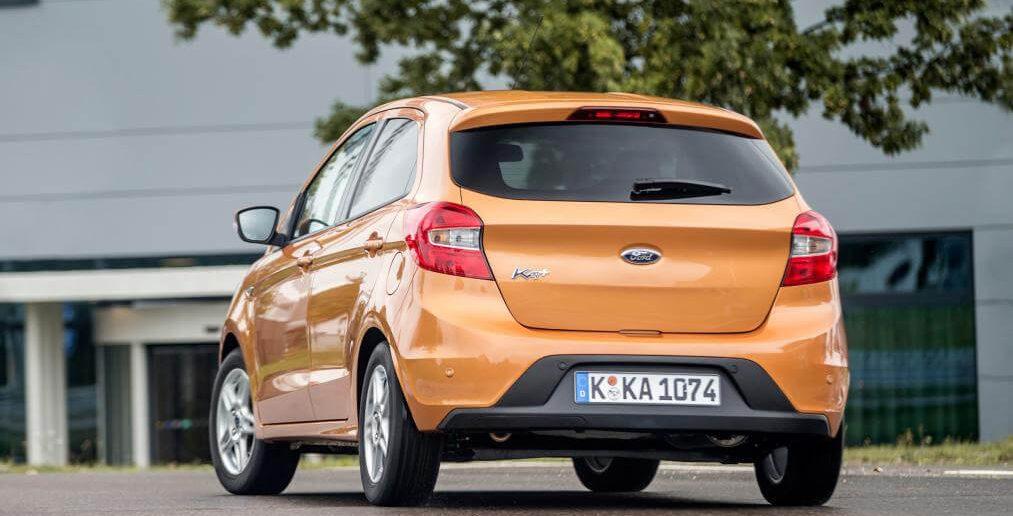 Ford Ka+ achterkant