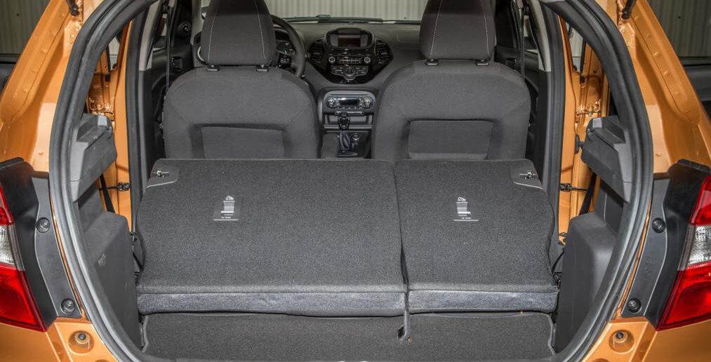 Ford Ka+ kofferruimte