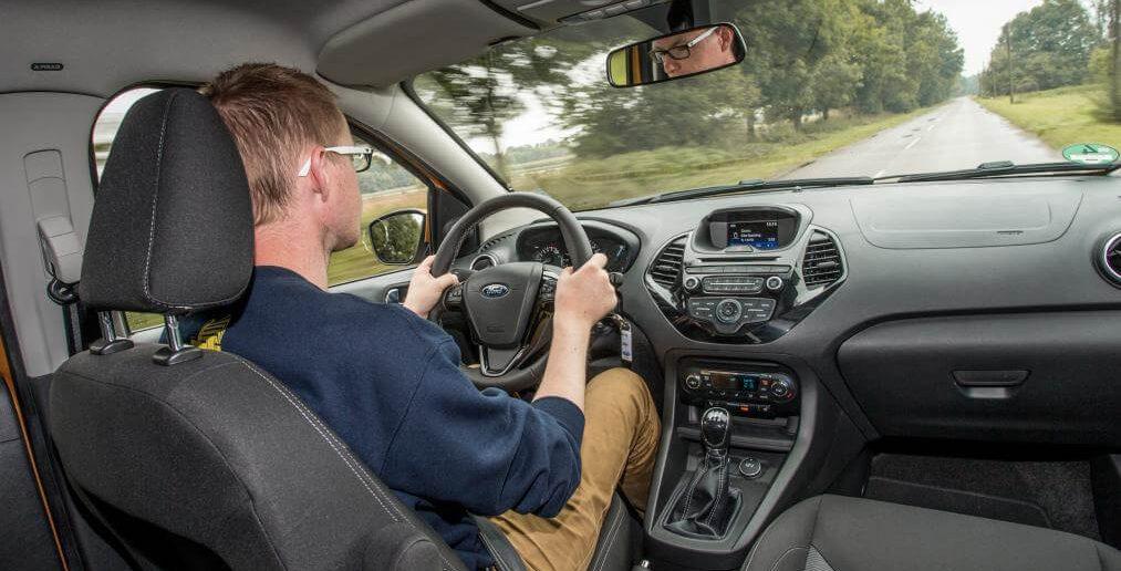 Ford Ka+ bestuurder