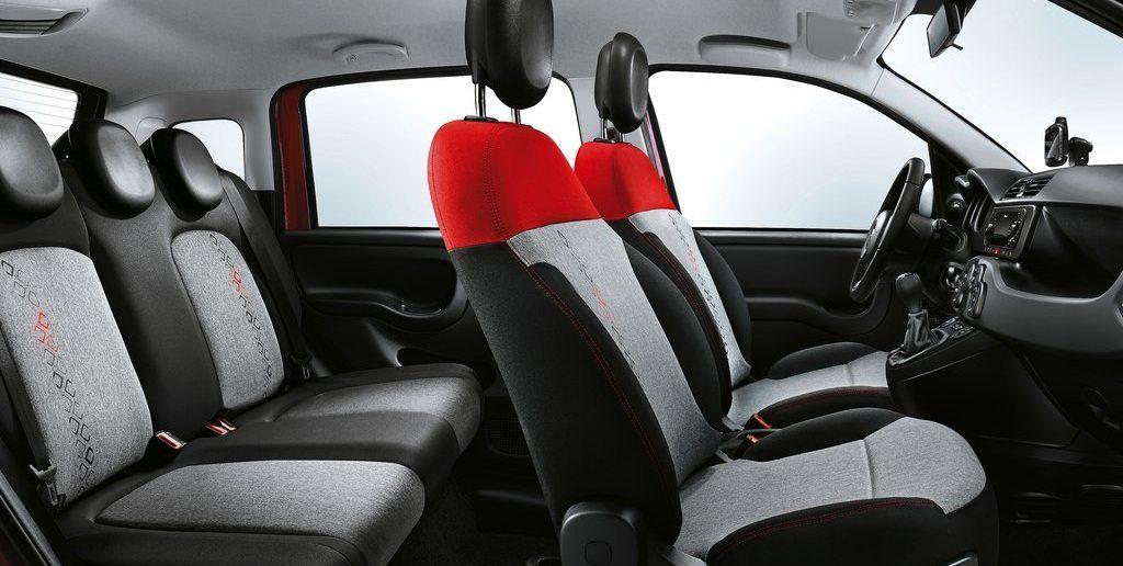 Fiat Panda stoelen