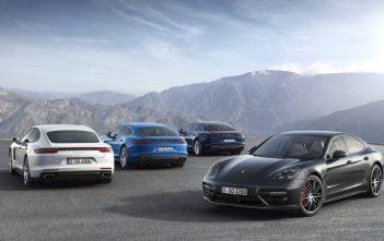 Porsche Panamera 4 E Hybrid groep