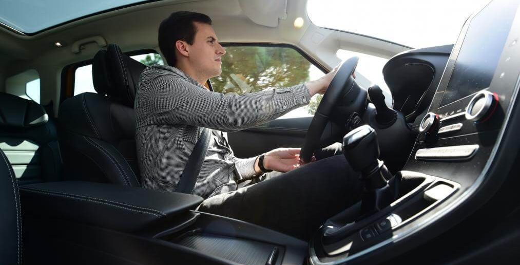 Renault Scenic TCe 130 2017 bestuurder