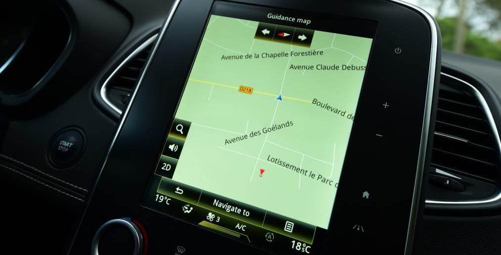 Renault navigatiesysteem