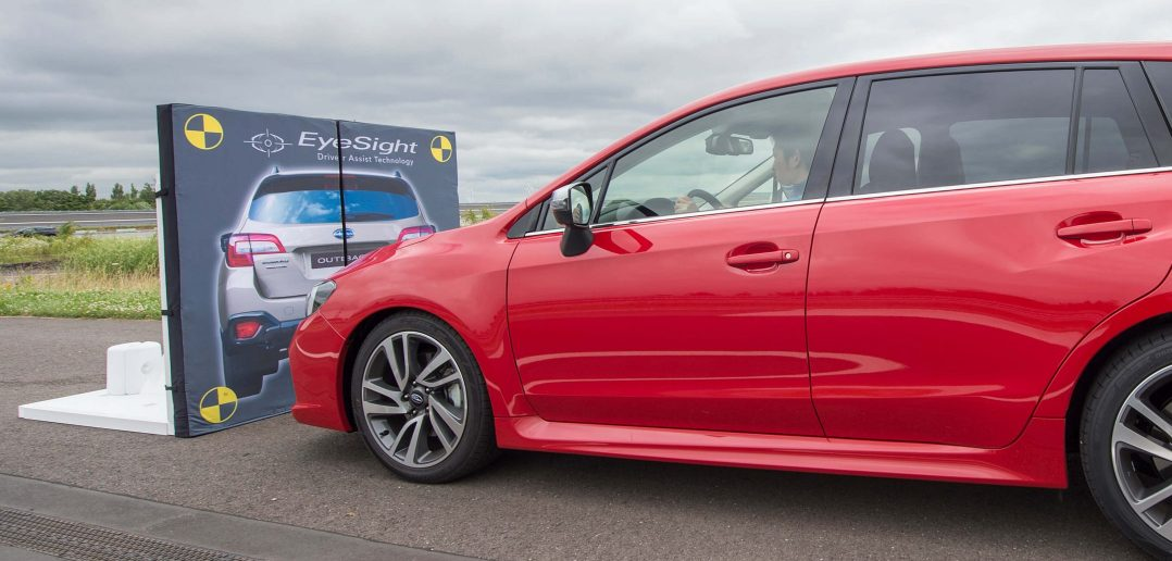Subaru Levorg eyesight test