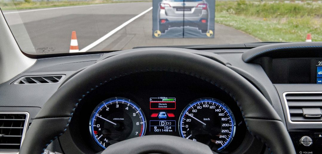 Subaru Levorg eyesight dashboard