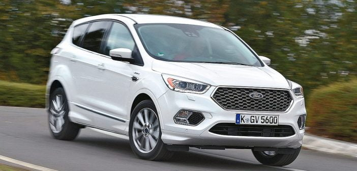 De vernieuwde Ford Kuga