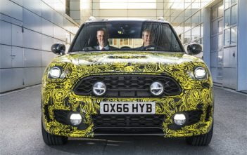 Mini Countryman plug-in hybride elektrisch