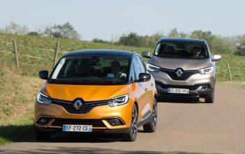 Renault Kadjar en Renault Scenic