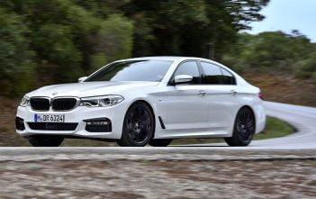 De nieuwe BMW 540i 2017