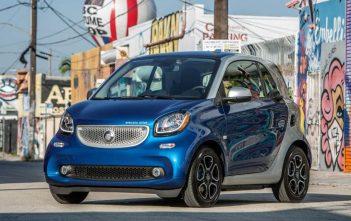 De nieuwe Smart Fortwo Electric Drive