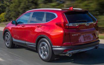 De nieuwe Honda CR-V 2017