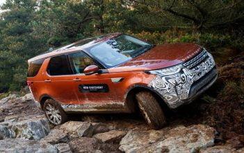 De nieuwe Land Rover Discovery 2017