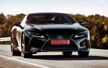 De nieuwe Lexus LC 2017