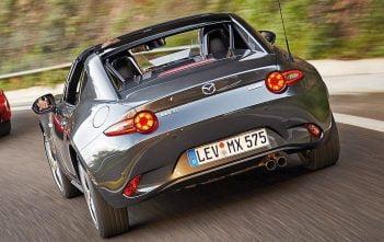 De nieuwe Mazda MX-5 RF 2017