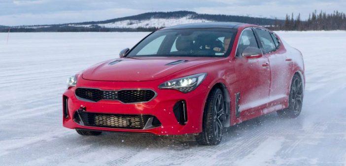 De nieuwe Kia Stinger GT 2017