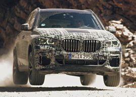 Nieuwe BMW X5 is springlevend
