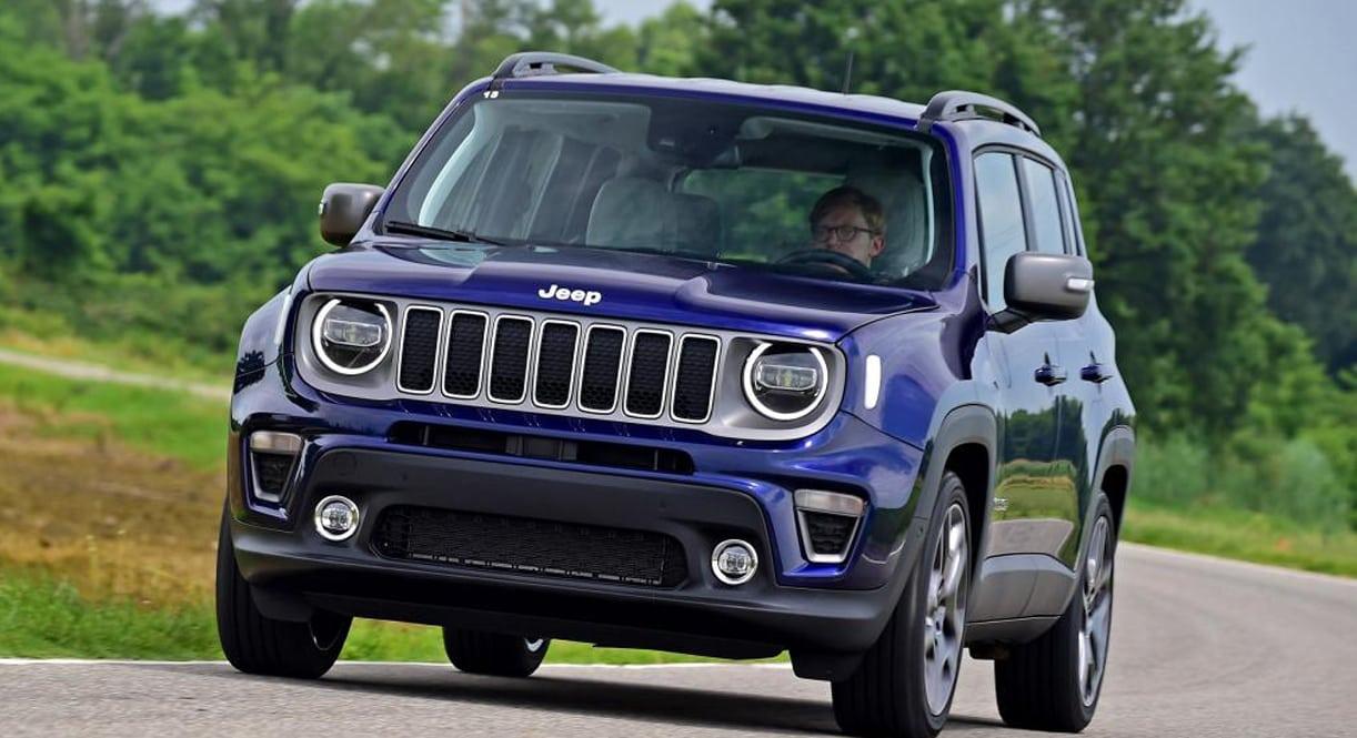 facelift vol fouten test vernieuwde jeep renegade. Black Bedroom Furniture Sets. Home Design Ideas