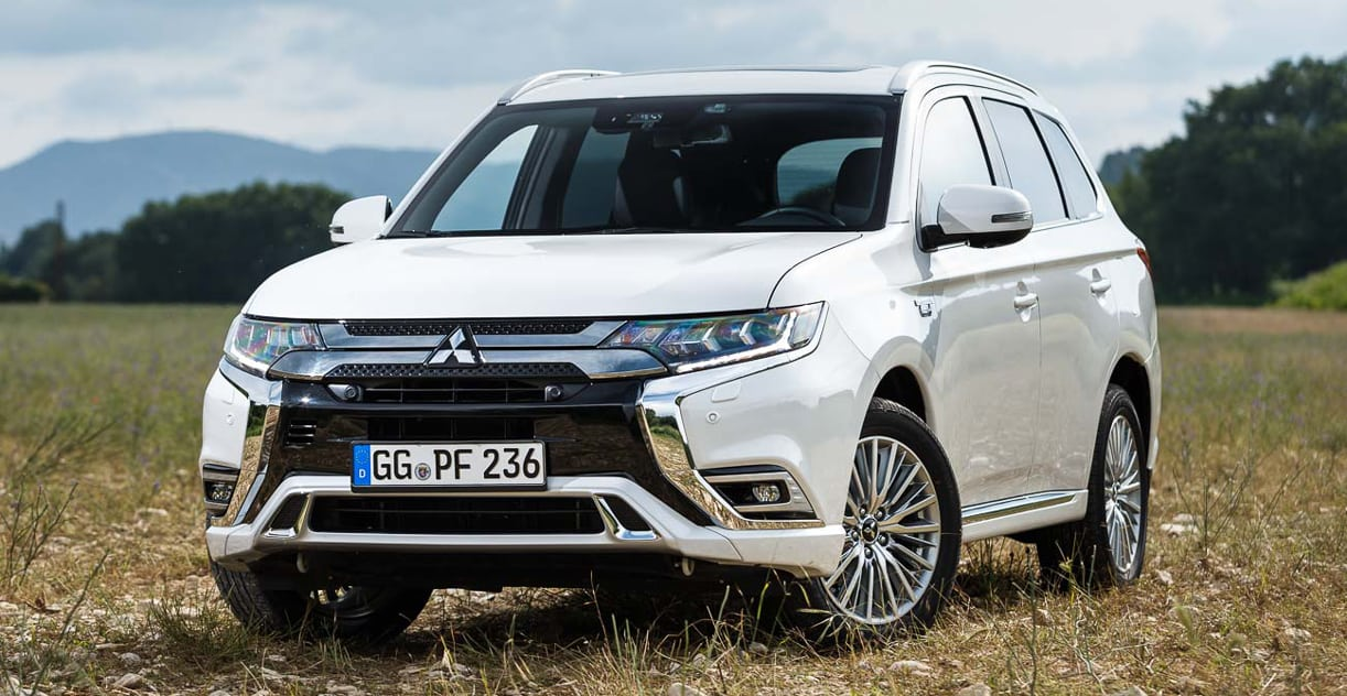 stille evolutie test mitsubishi outlander phev