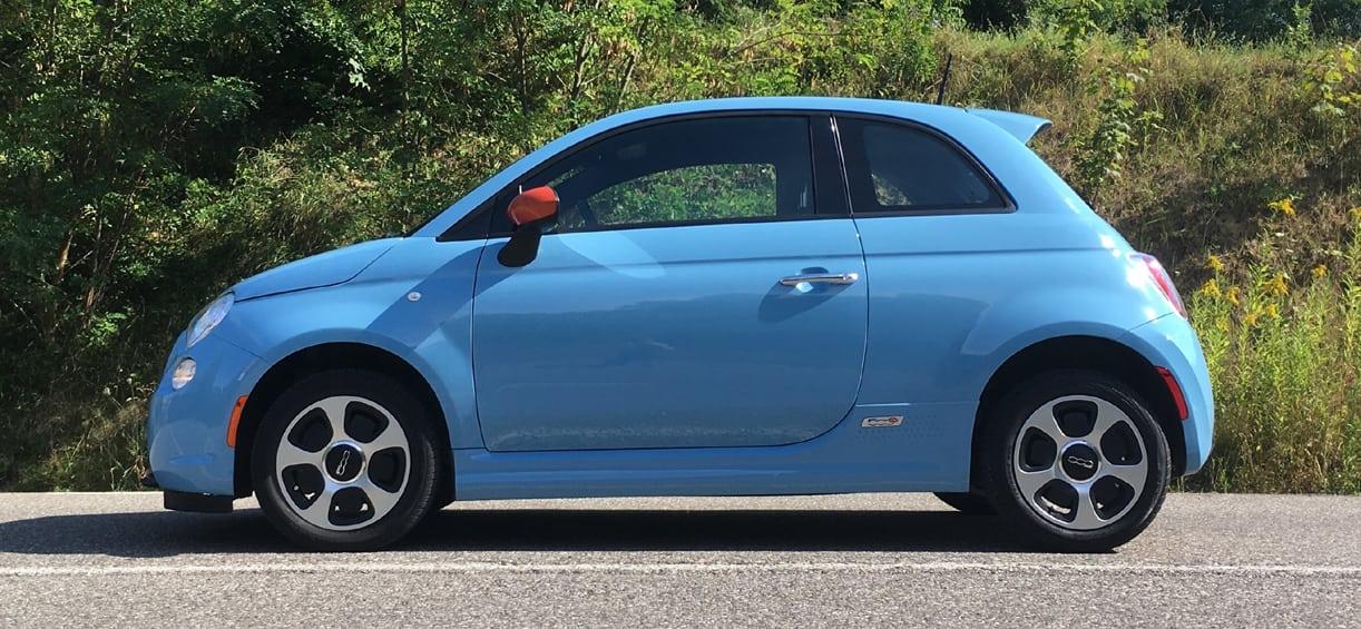 Dit Is De Toekomst Van Fiat Test Elektrische 500