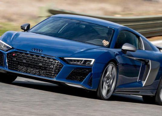 Heerlijk ouderwets: test Audi R8 Performance