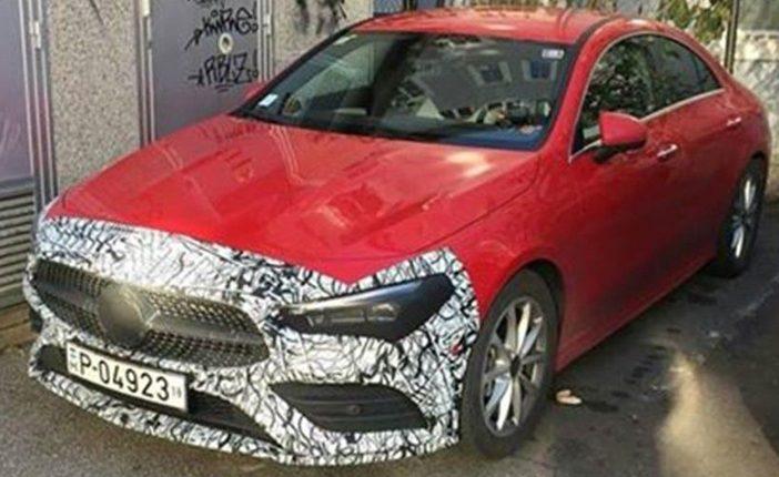 Nieuwe Mercedes Benz Cla Is Klaar Voor De Officiele Onthulling