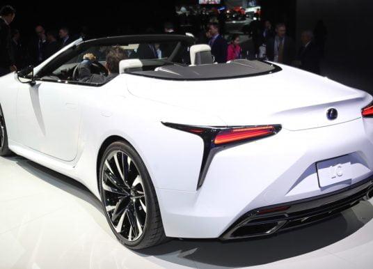 Mooiste conceptstudie van de show: Lexus LC Convertible