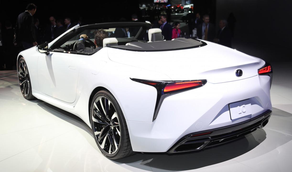 Mooiste Conceptstudie Van De Show Lexus Lc Convertible