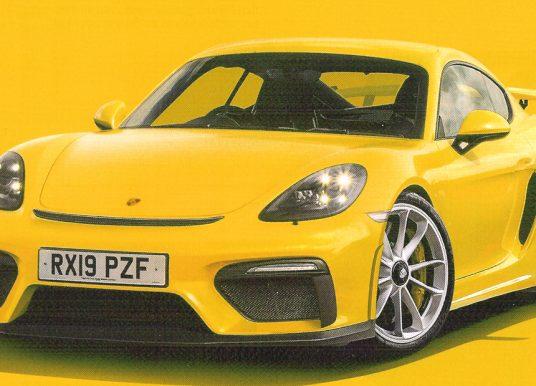 Puur! Porsche komt in juli met de Cayman GT4