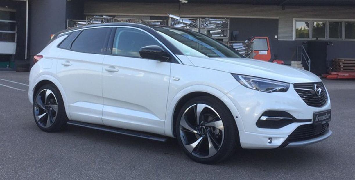 Dubbelop Opel Grandland X Irmscher Als Actieaanbieding
