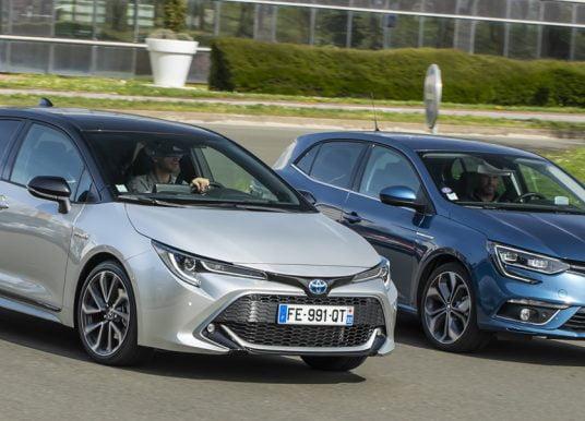 Test: Toyota Corolla daagt de Renault Mégane uit, maar wint niet