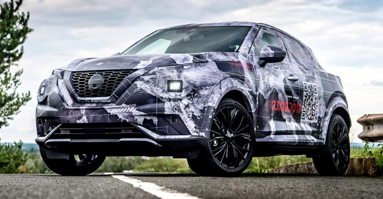 Exclusief Rijden Met De Nieuwe Nissan Juke Prototype