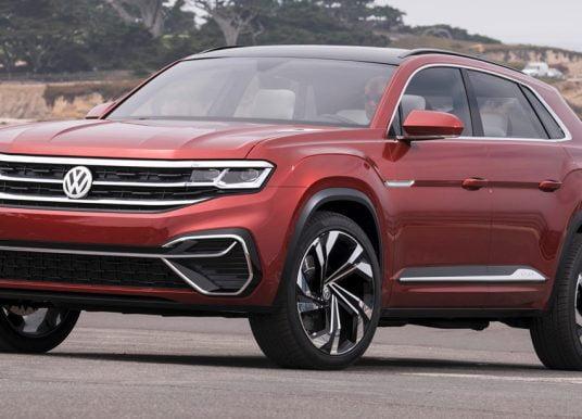 Volkswagen Teramont Coupé komt mogelijk naar Europa