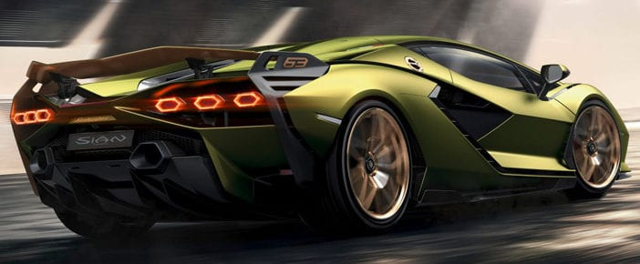 The Lamborghini Sian Is The Hybrid And Most Powerful Car Ever