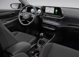 Hyundai i20 inside