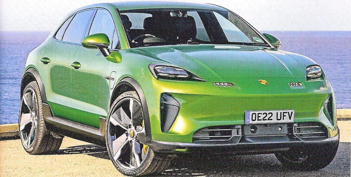 Porsche Komt Eind 2021 Met Een Elektrische Macan Autointernationaal Nl