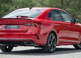 Nieuwe Skoda Octavia RS is er nu ook met benzine en diesel motor