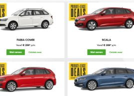 Scherpe private lease deals tijdens de Skoda Black Friday weken
