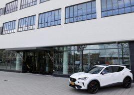 Eerste Cupra garage geopend in Amsterdam