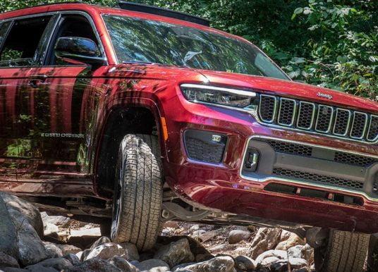Ook met 7 zitplaatsen koning in het terrein: test Jeep Grand Cherokee L