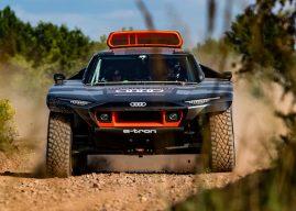 Audi gaat elektrisch rijden in de woestijn